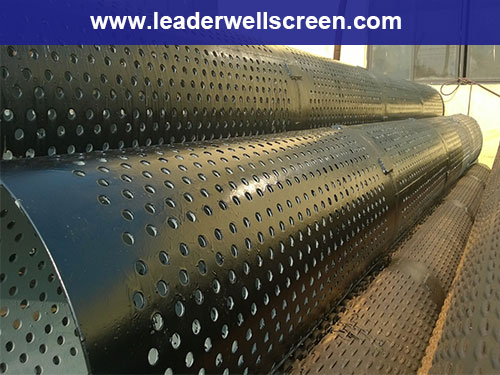 Perforated well casing pipe henan tianzhiwo machinery co ltd
