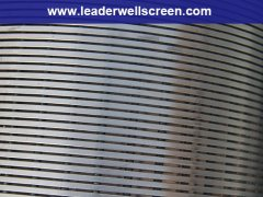 Stainless Steel V Johnson wire water well screen